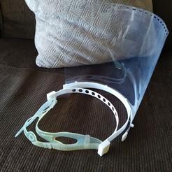 Descargar archivos 3D gratis Soporte protector modificado para la correa de la máscara :o), maby0613