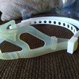 Download free 3D printer designs Modified protective support for a mask strap :o), maby0613