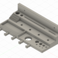 Download free 3D printer designs 3D Printer Tool Caddy / Holder / Organizer - Wall Mount, SierraTech