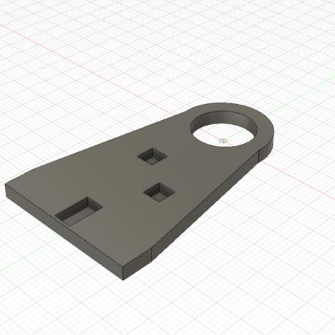 Monoprice Extruder Indicator Mill Body_FINAL_V2_BAK v1.png Télécharger fichier STL gratuit Indicateur d'extrudeuse pour Monoprice Maker Select Pro / Wanhao D9 Moulin à vent Amish • Design pour impression 3D, SierraTech