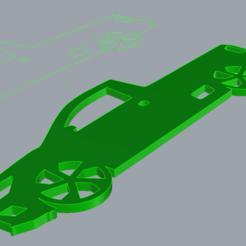 llavero saveiro k1.png Télécharger fichier OBJ porte-clés saveiro simple cabin • Design pour imprimante 3D, el_k_67