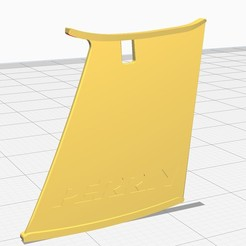 esatbilizador.jpg Download STL file stabilize wing Subaru • Template to 3D print, maurivq