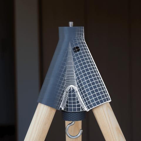 Free STL Insta-tripod and monopod - 3d printed tripod, il_dalla