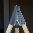 Descargar archivos 3D gratis Insta-trípode y monopod - trípode impreso en 3d, il_dalla