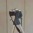 Archivos 3D gratis Insta-trípode y monopod - trípode impreso en 3d, il_dalla