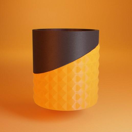 Télécharger fichier impression 3D gratuit Porte-plume géométrique, il_dalla