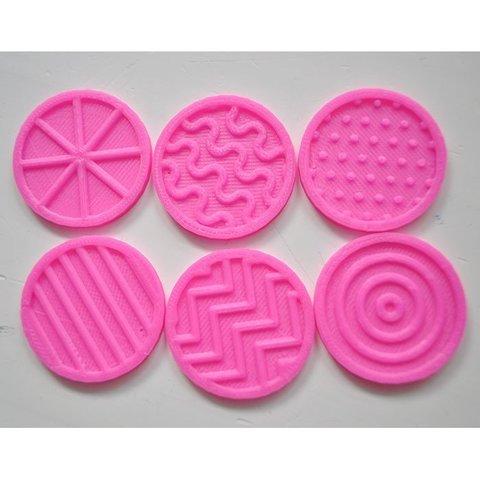 Download free 3D printer model Tactile discs game (series 2), Ogrod3d