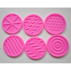 Download free 3D printer model Tactile discs game (series 2), Ogrod3d
