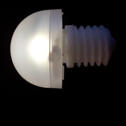 Free STL IKEA - Led lightbulb, Ogrod3d