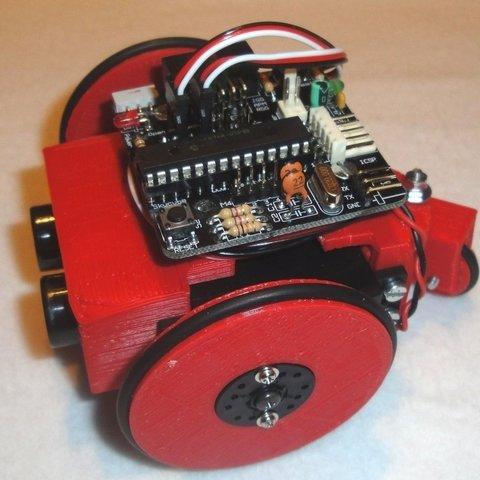 Miniskybot-v1.0-red-r1_display_large_display_large.jpg Download free STL file MiniSkybot Robot V1.0 • Model to 3D print, Ogrod3d