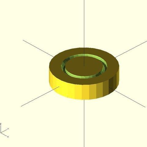 table_foot_display_large.jpg Télécharger fichier STL gratuit Pied de table • Modèle à imprimer en 3D, Ogrod3d
