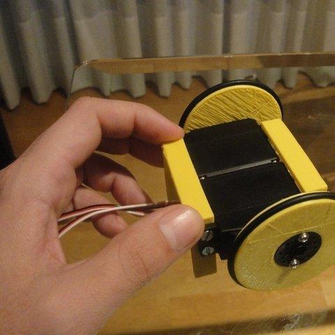 MiniSkybot-chasis-1_display_large_display_large.jpg Télécharger fichier STL gratuit Châssis de robot MiniSkybot • Plan imprimable en 3D, Ogrod3d