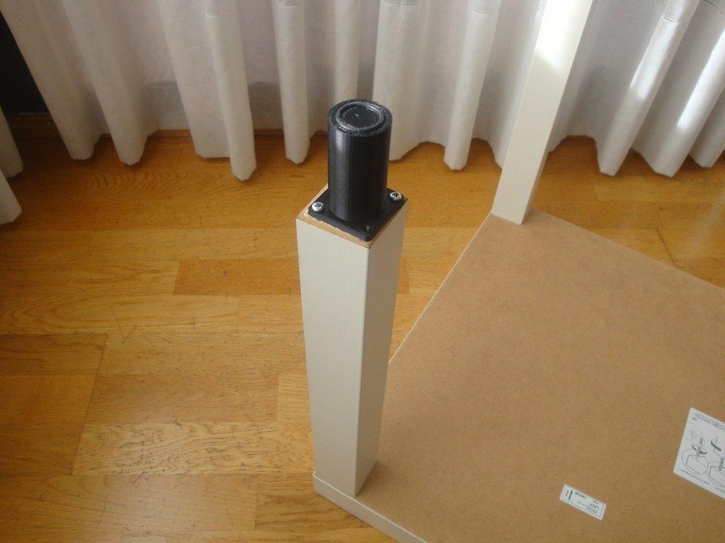 DSC01770_display_large.jpg Télécharger fichier STL gratuit Pied de table Ikea • Objet pour imprimante 3D, Ogrod3d