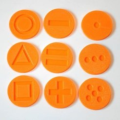 Download free STL Tactile discs game (series 1), Ogrod3d