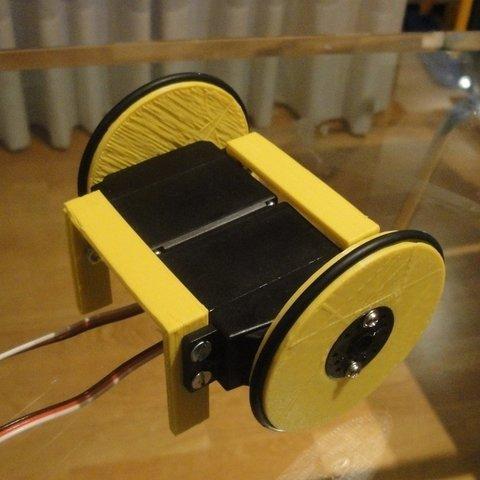 MiniSkybot-chasis-3_display_large_display_large.jpg Télécharger fichier STL gratuit Châssis de robot MiniSkybot • Plan imprimable en 3D, Ogrod3d