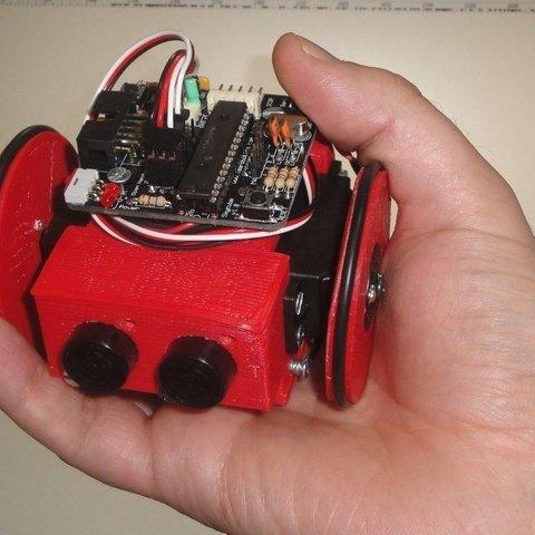 Miniskybot-red-hand-r1_display_large_display_large.jpg Download free STL file MiniSkybot Robot V1.0 • Model to 3D print, Ogrod3d