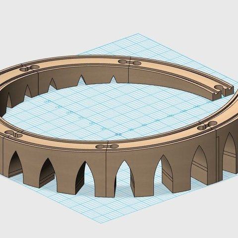 Download free 3D printer templates Curved incline rails for IKEA and BRIO railway., Ogrod3d