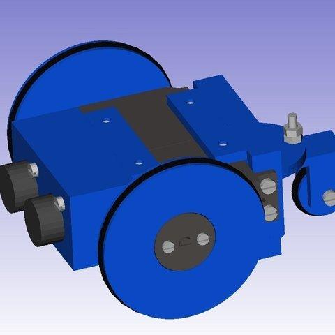 Miniskybot-design1_display_large_display_large.jpg Download free STL file MiniSkybot Robot V1.0 • Model to 3D print, Ogrod3d