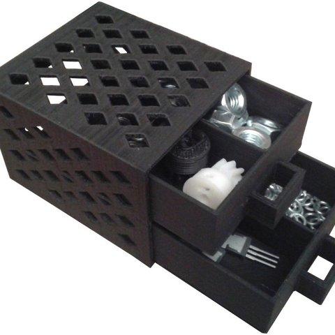 Imprimir en 3D gratis Otra caja de compartimento, Ogrod3d
