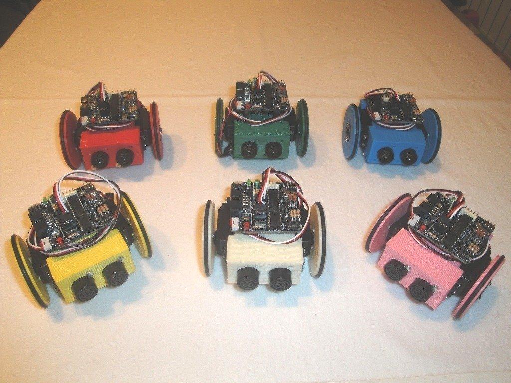 Miniskybot-v1.0-1_display_large_display_large.jpg Download free STL file MiniSkybot Robot V1.0 • Model to 3D print, Ogrod3d