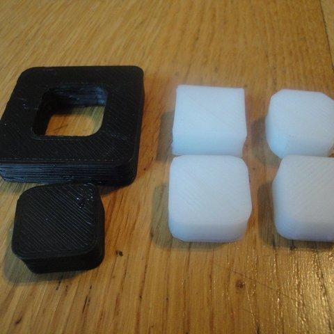 Download free 3D printer designs Parametric openscad beveled cube, Ogrod3d