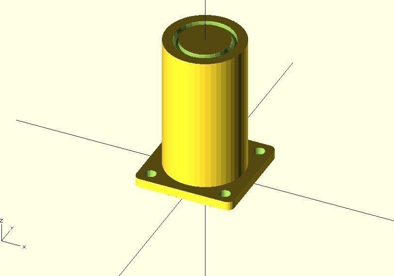 ikea-table-foot-openscad_display_large.jpg Télécharger fichier STL gratuit Pied de table Ikea • Objet pour imprimante 3D, Ogrod3d