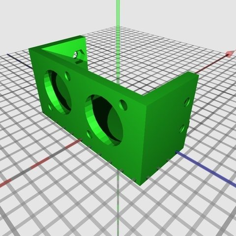 Mini-skybot-U-front-skycube-ultrasound_display_large_display_large.jpg Download free STL file MiniSkybot Robot V1.0 • Model to 3D print, Ogrod3d