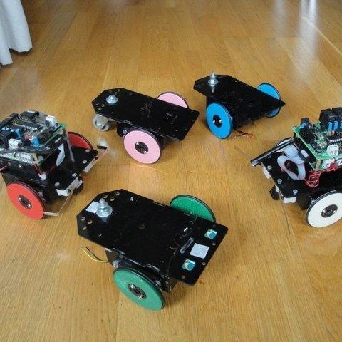 Ruedas-Skybot-G3-v2-4_display_large_display_large.jpg Download free STL file Servo wheel for mobile robots • 3D printing template, Ogrod3d