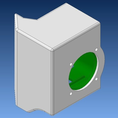 00-3_display_large.jpg Download free STL file PLA printing: PP3DP Up plus 2 extruder stepper motor cooler • Object to 3D print, Werthrante