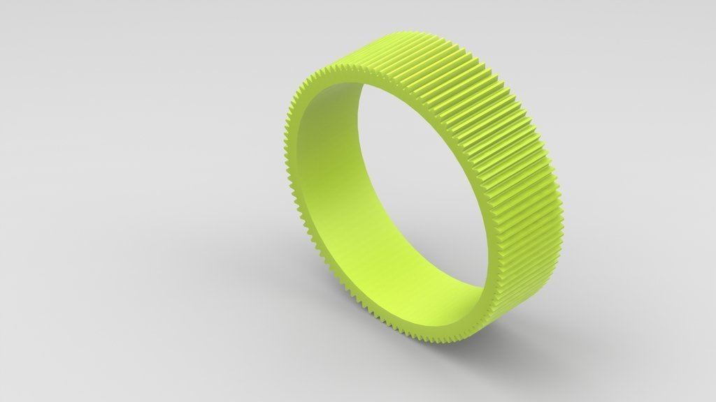 samyang_gear_display_large.JPG Download free STL file Canon EF 85mm f/1.8 Lens Gear • 3D printer design, Werthrante
