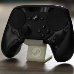 Free 3D printer files Steam Controller Holder, Werthrante