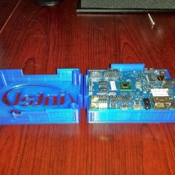 Download free 3D printer designs Intel Galileo enclosure, Werthrante