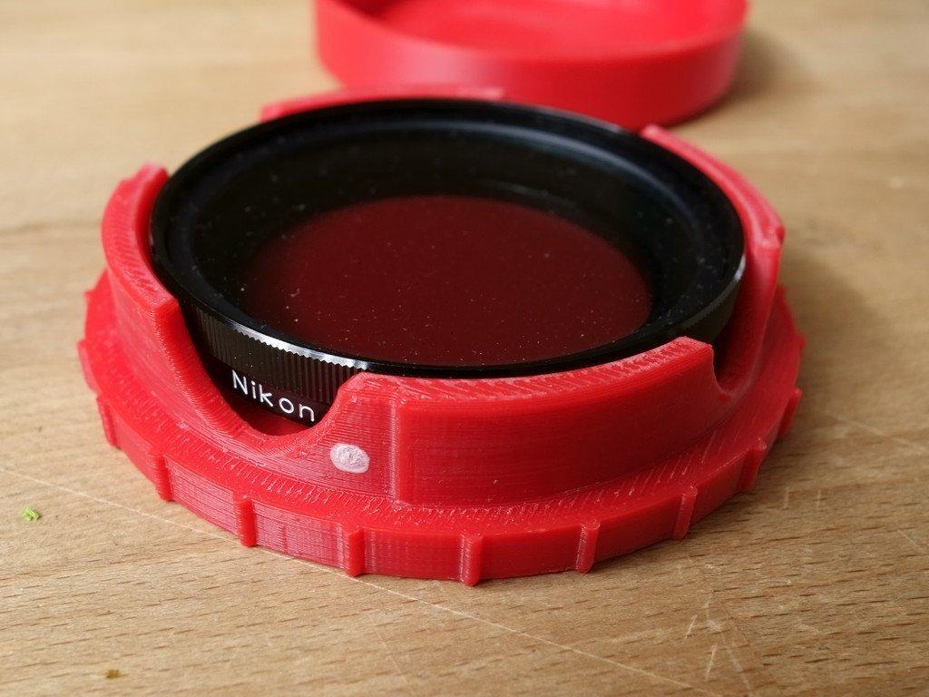 DSC01627_display_large.jpg Download free STL file Rugged Lens Filter Case • 3D printable object, Werthrante