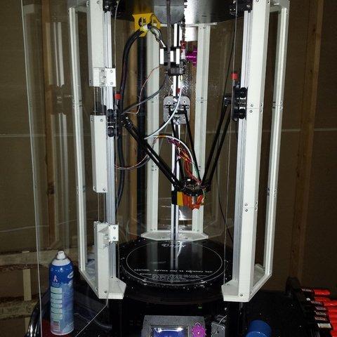 Télécharger fichier imprimante 3D gratuit Boîtier RostockMax, Werthrante