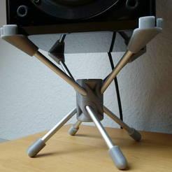 Free STL Speaker Stand 150 mm (Yamaha Piano Craft NX-E300), Werthrante