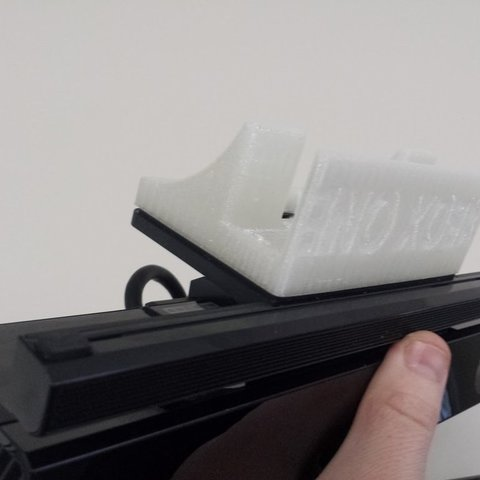 Download free STL file xbox one kinect mount for flat screens • Design to 3D print, Werthrante