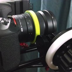 Free 3D printer files Sigma 35mm Lens Gear, Werthrante