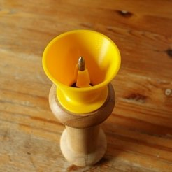 Download free 3D printer designs Pepper grinder funnel, Werthrante