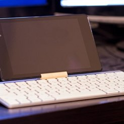 Download free STL file Nexus 7 Apple Bluetooth Keyboard Holder, Werthrante