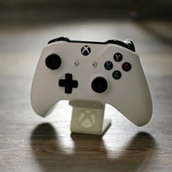 Download free STL file Xbox One S Controller Holder • Model to 3D print, Werthrante