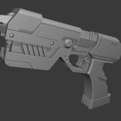 Download 3D printing templates Samus Blaster, AdmiralFerret
