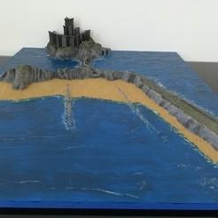 !cid_13211ab6-9f59-4d6f-a89f-8fbfd9bf1fff.jpg Download STL file Dragonstone castle • Model to 3D print, Factoria3D