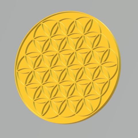 3D printer files Flower of life, acheron2k