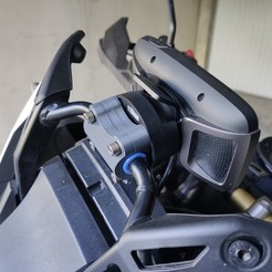 IMG_20190718_175005.jpg Download STL file Tomtom Rider Support • 3D printer template, Patphil