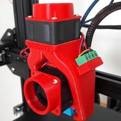 Télécharger fichier impression 3D gratuit  double ventilateur ender3, bs3dxyz