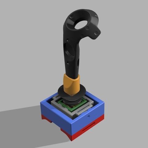 Untitled 1.jpg Download free STL file VTOL VR 3D printed VIVE controller addon • 3D printer design, 3D_Bus_Driver