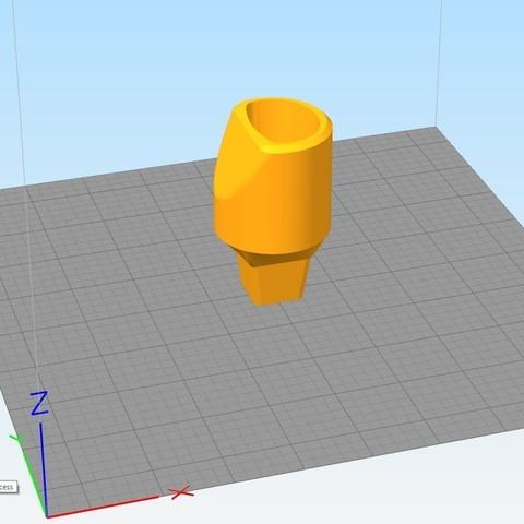 Untitled 3.jpg Download free STL file VTOL VR 3D printed VIVE controller addon • 3D printer design, 3D_Bus_Driver