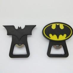 IMG_4182.JPG Télécharger fichier STL Batman / Ouvreur de bière DC Heroes • Objet pour imprimante 3D, 3dgag