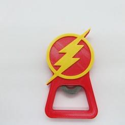 Descargar archivos STL Destapador Flash / Beer opener DC Heroes, 3dgag