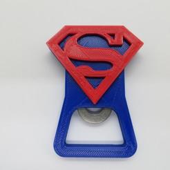 Télécharger STL Superman Decapper / ouvre-bouteille DC Heroes, 3dgag